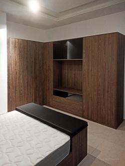 Wood texture #11 & gloss black