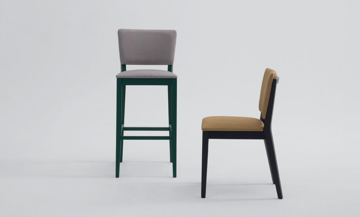Posh stool & chair