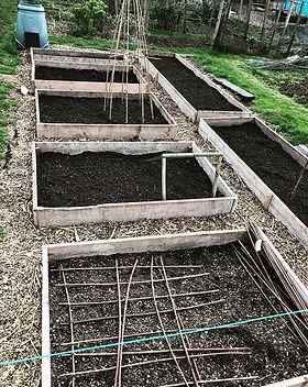 Planning & planting has begun .. #crossk