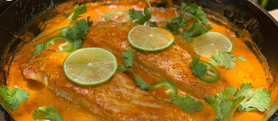 Thai Chili Lime Coconut Salmon