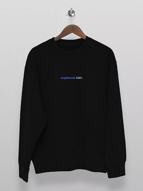 Euphoria Hills Jet Black Sweater