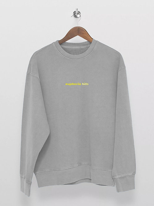 Euphoria Hills Mist Grey Sweater