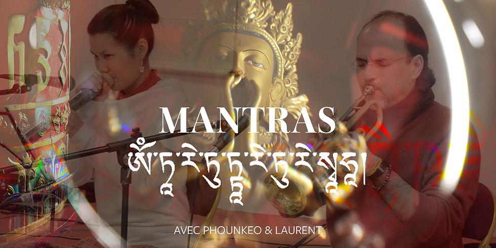 Mantras | chants de partage, de soutien et de guérison
