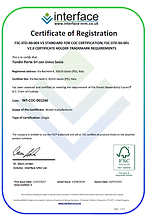 Porte interne e serramenti prodotti con legno certificato FSC.