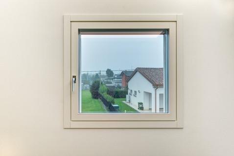 Finestra Minimal in legno/alluminio