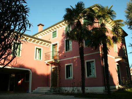 Villa con serramenti in Stile Liberty - Art Nouveau - Padova