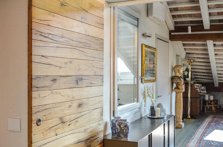 Serramento in legno e alluminio classic 85