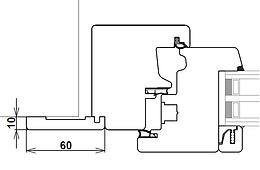 Elaborazione Coprifilo standard