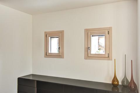 Finestre in Frassino sbiancato
