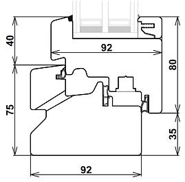 sezione traverso inferiore finestra clima92 design.pd.png