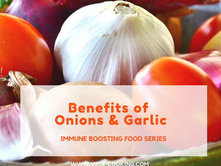 Simple Immune Boosters - Garlic and Onion