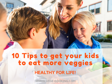 10 tips to get your kids to eat more veggies