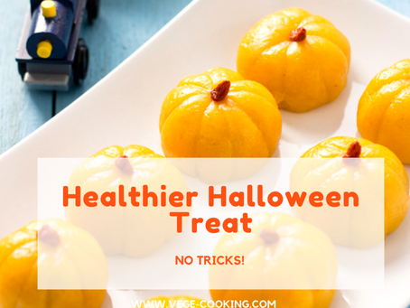 A Healthier Halloween Treat - No Trick!