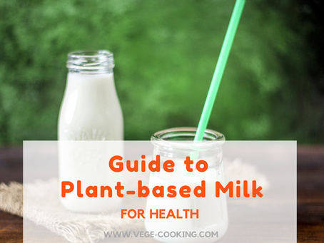 Guide to plant-based milk