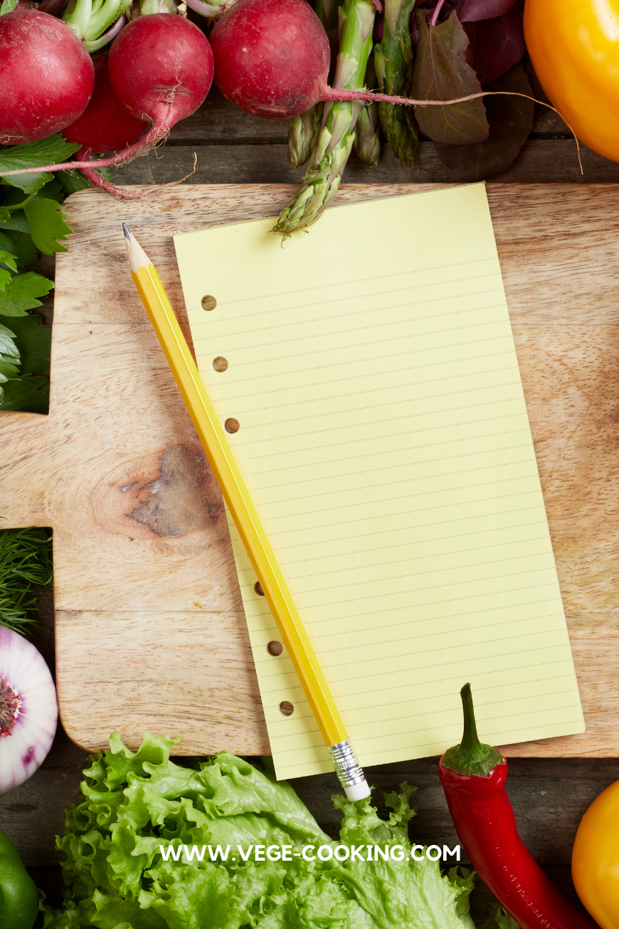 Make a grocery list to prepare for healthy travel