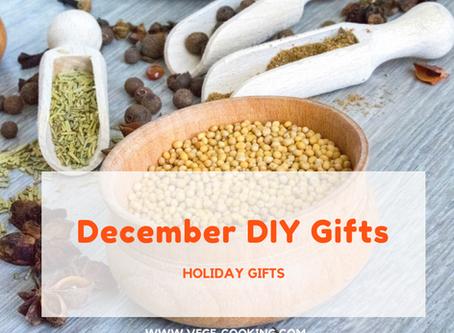 December DIY Gifts