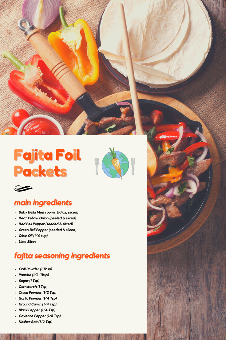 Fajita Foil Packets