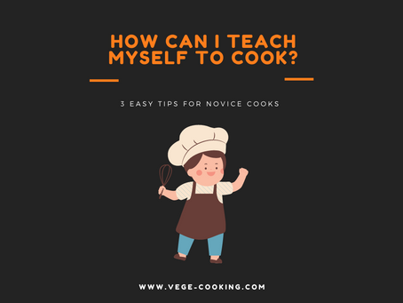 How can I teach myself to cook?