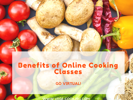 The Benefits of Online Cooking Classes