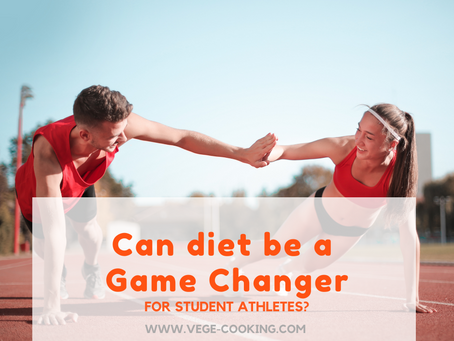 Can diet be a Game Changer for student athletes?