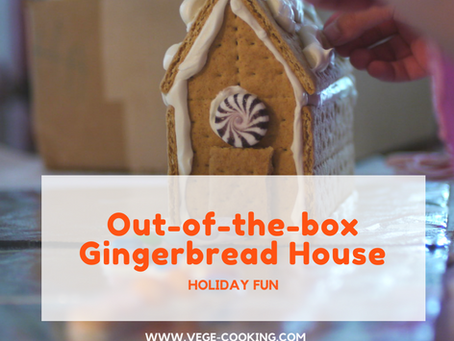Think outside the box for this year's gingerbread house
