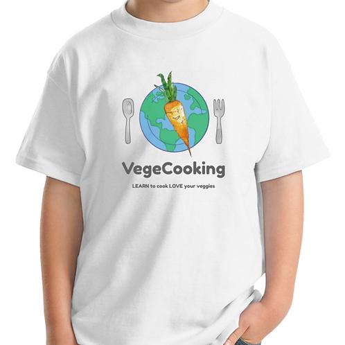 VegeCooking Kids Cotton Tee