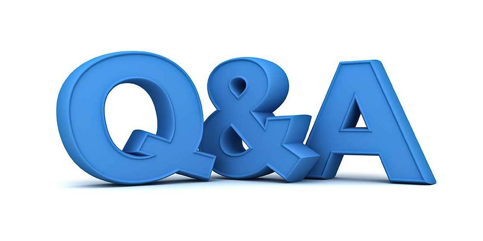 Q&A Session 3