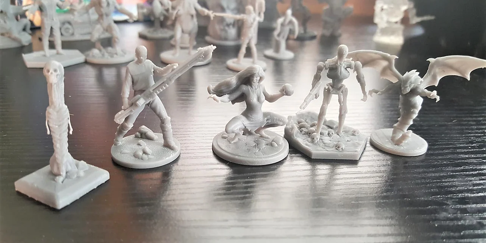 Miniature Printing Session 1