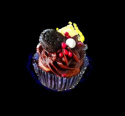 Strawberry Chocolate Cupcake