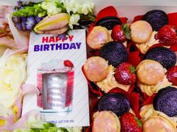 Birthday Velvet Cupcakes
