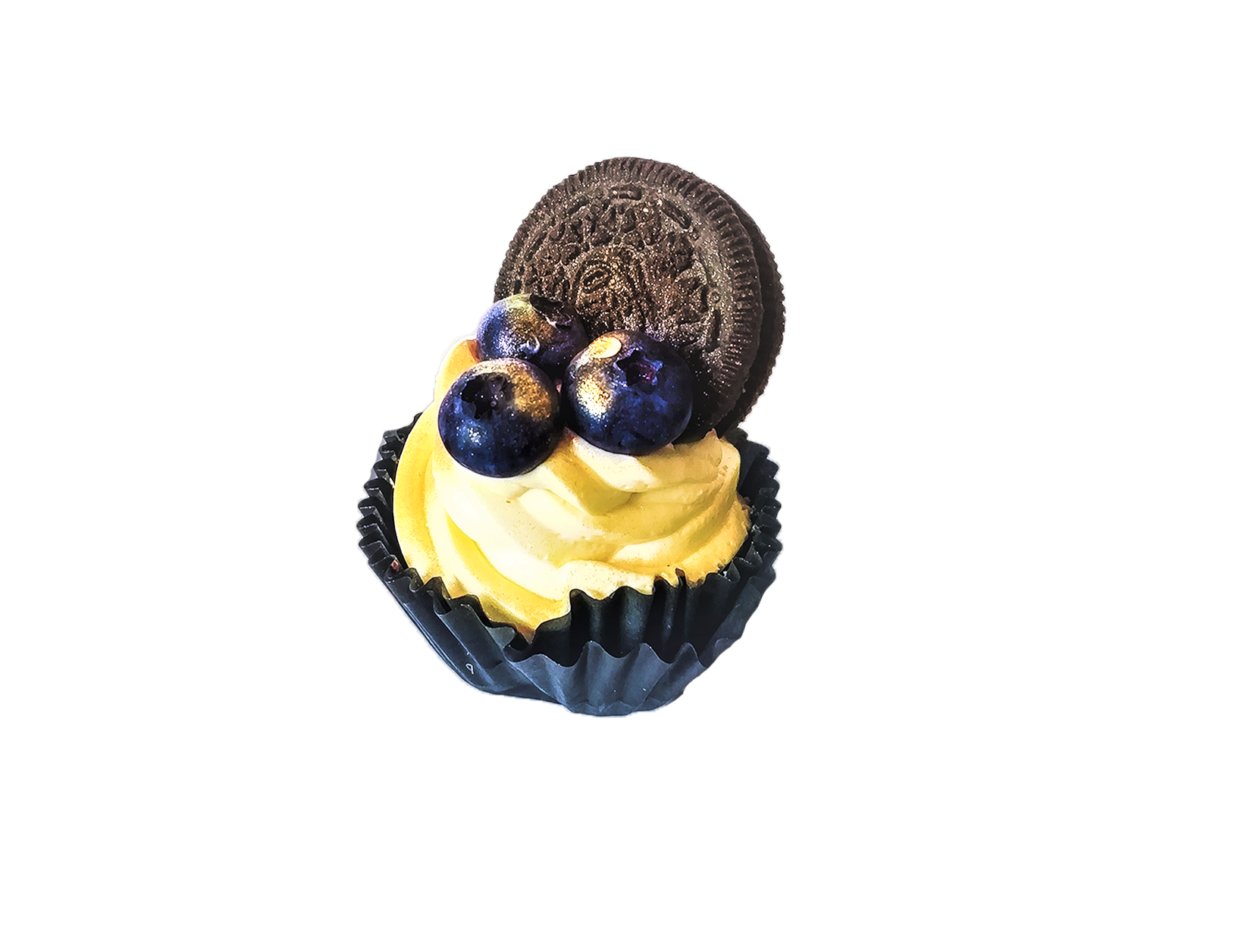 Chocolate Muffin with Blueberries