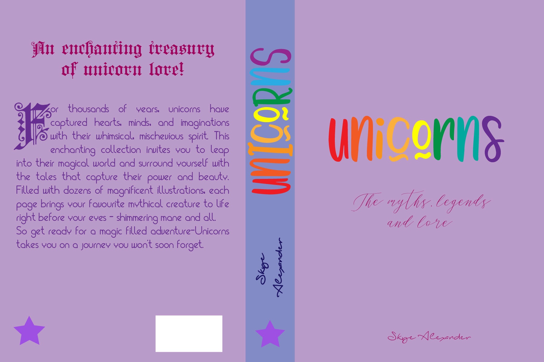 Unicorns Type cover 1