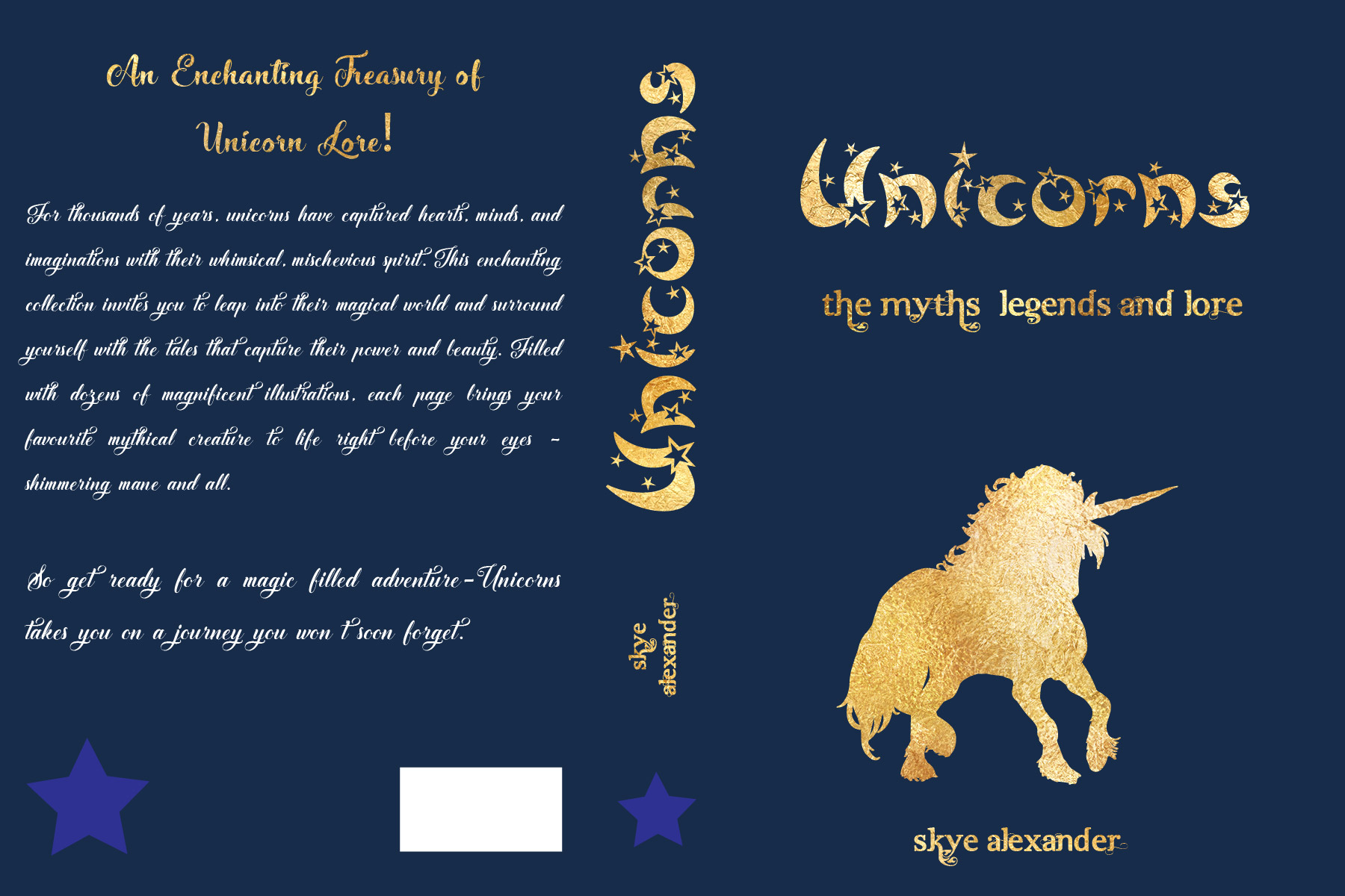 Unicorns Book type cover 3