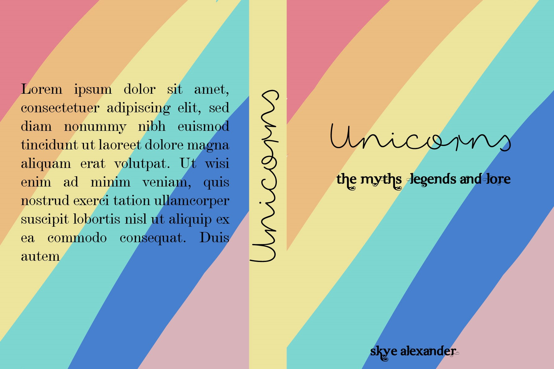 Unicorns Type cover 2