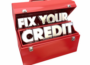 3 Steps for Fixing Your Credit!