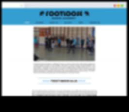 Footlose website - Emma Rampton Portfolio