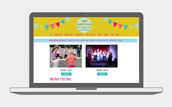 Why Don't You Website - Emma Rampton Portfolio
