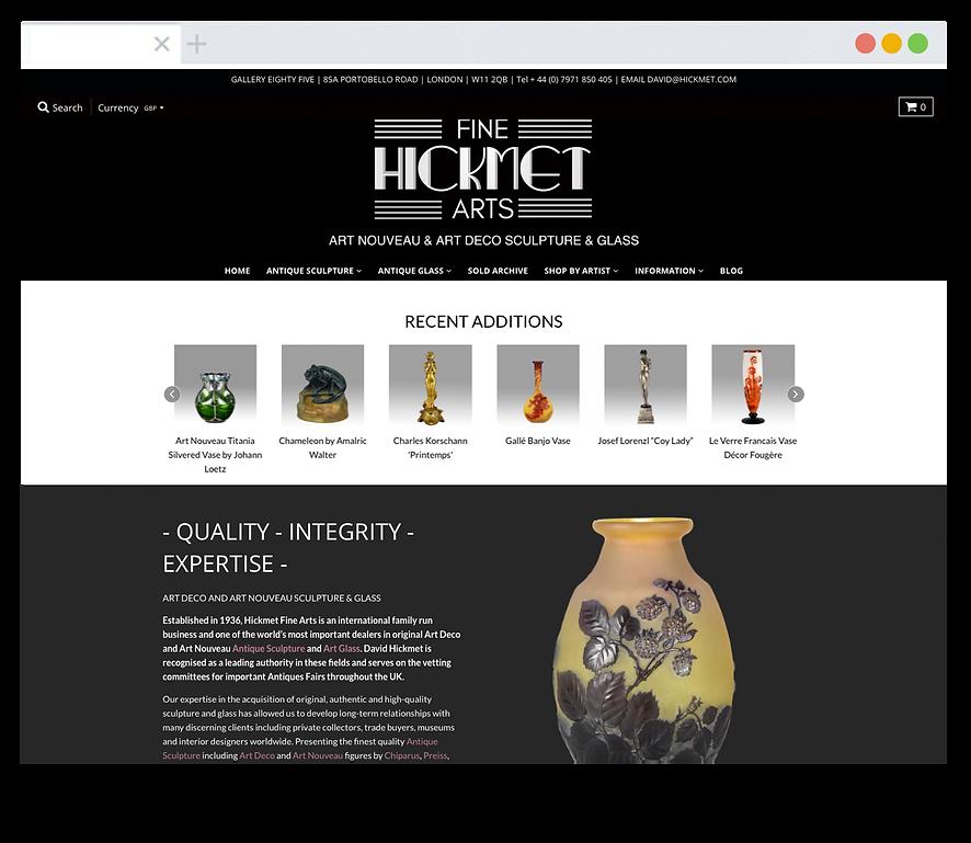 Hickmet Fine Arts - Emma Rampton Portfolio
