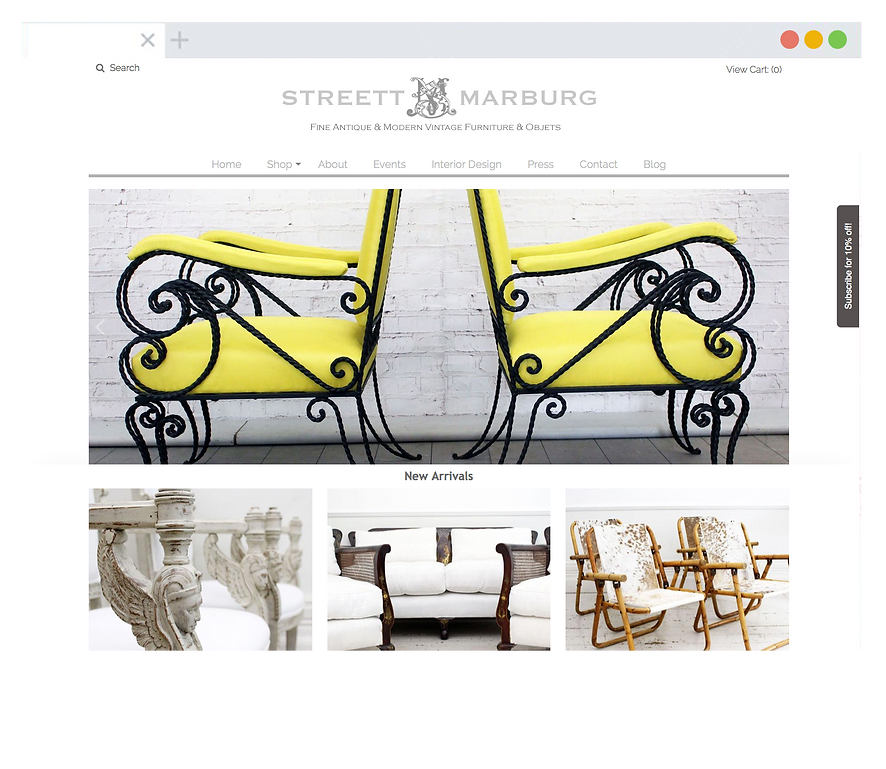 Streett Marburg Website - Emma Rampton Portfolio