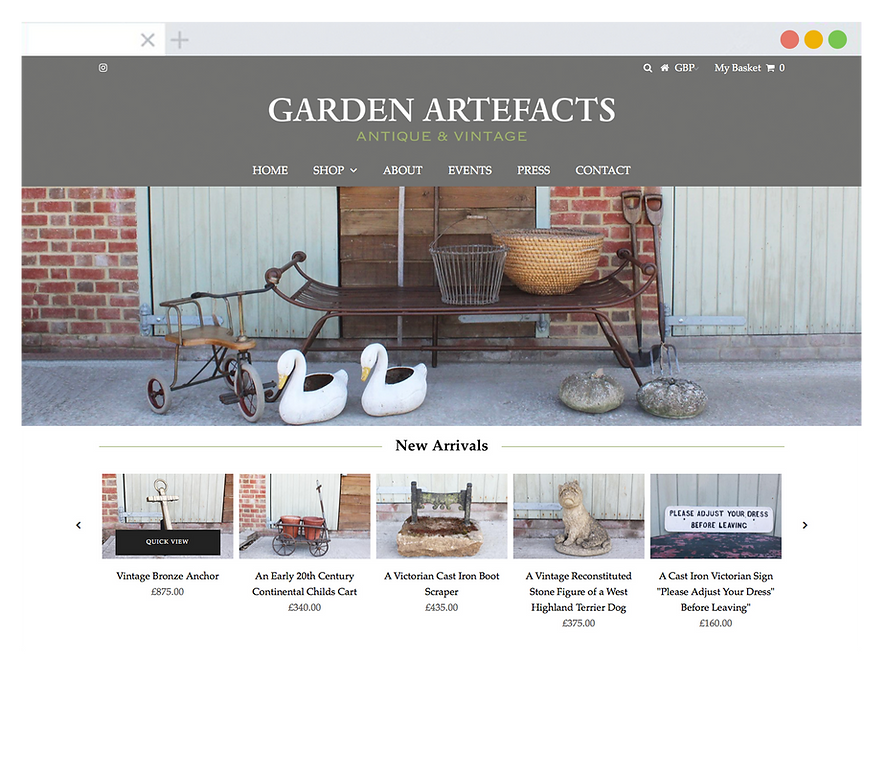 Garden Artefacts - Emma Rampton Portfolio