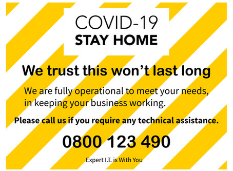 COVID-19: Stay Home and Stay Safe