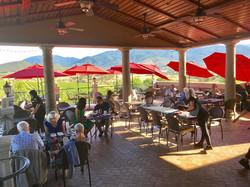 Belle Fiore Winery Terrace