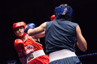 Taking the hit: women in boxing