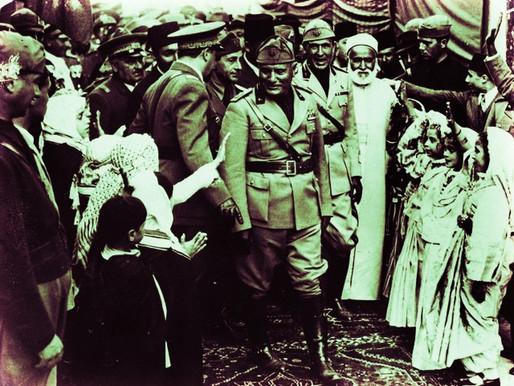 James Strachey Barnes Talks With Mussolini (1937)