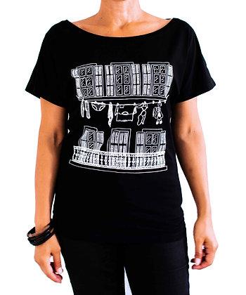T-shirt Trois Fenêtres Marseillais