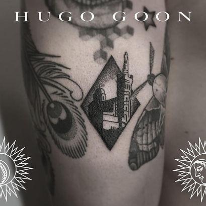 Encre Noire- Hugo Goon - Tatoo Shop Marseille Le Panier