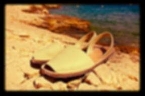 Sandales avarcas minorquines por homme - livraison gratuite - vente en ligne et à Marseille