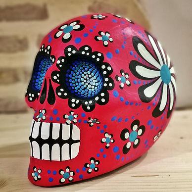Tete de mort Mexicaine