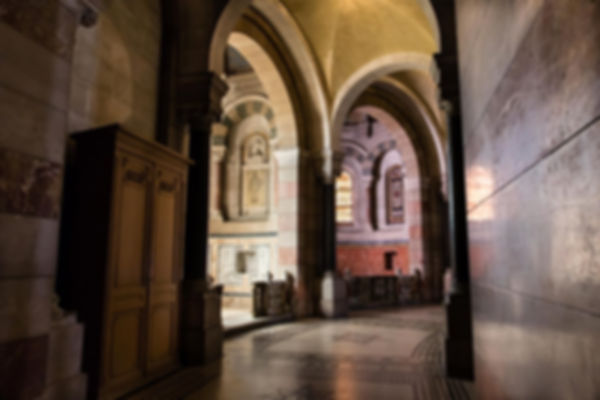 Arrière de l'autel de la Major à Marseill