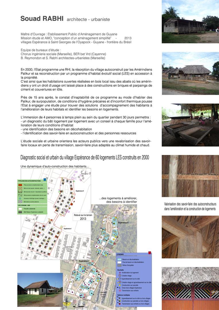 un projet d'auto-construction Guyane - Souad Rabhi - Urbaniste à Marseille